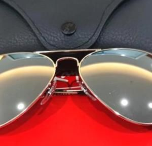 Ray Ban sunglasses SILVER FLASH RB3025